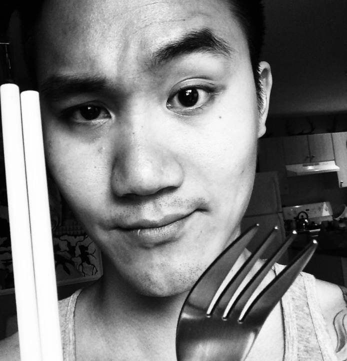 fork and chopstick