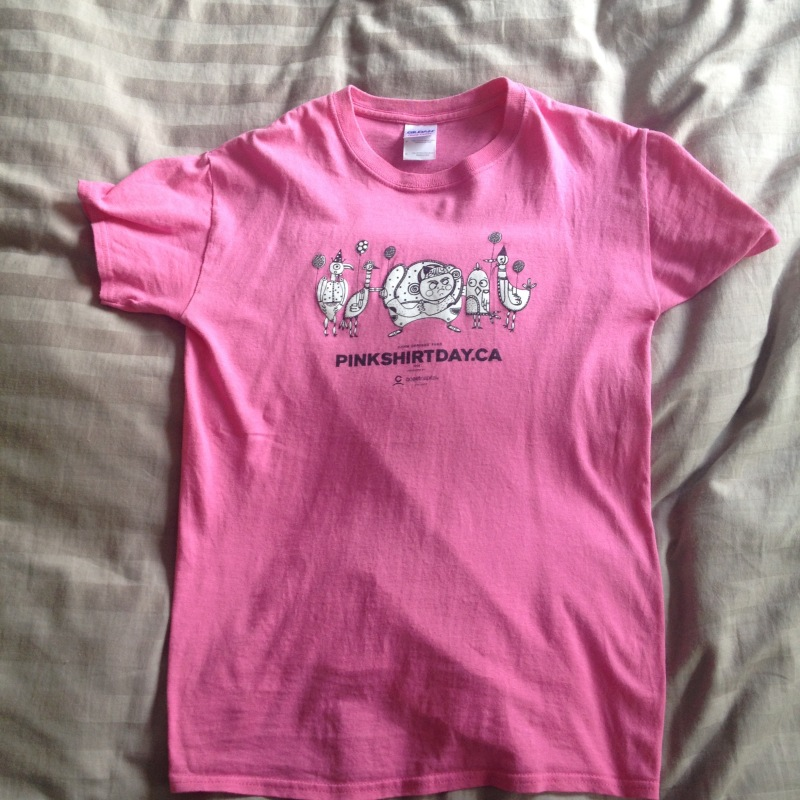 The Heart Behind Pink ShirtDay